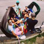 Central Park Rickshaw Selfie