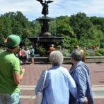 The Bethesda Fountain walking tour