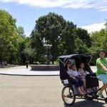 central park rickshaw tour