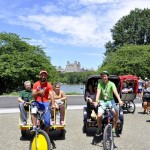 central park pedicabs in new york city