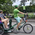 Experience Central Park on board of Sightseeing Pedicab Tour