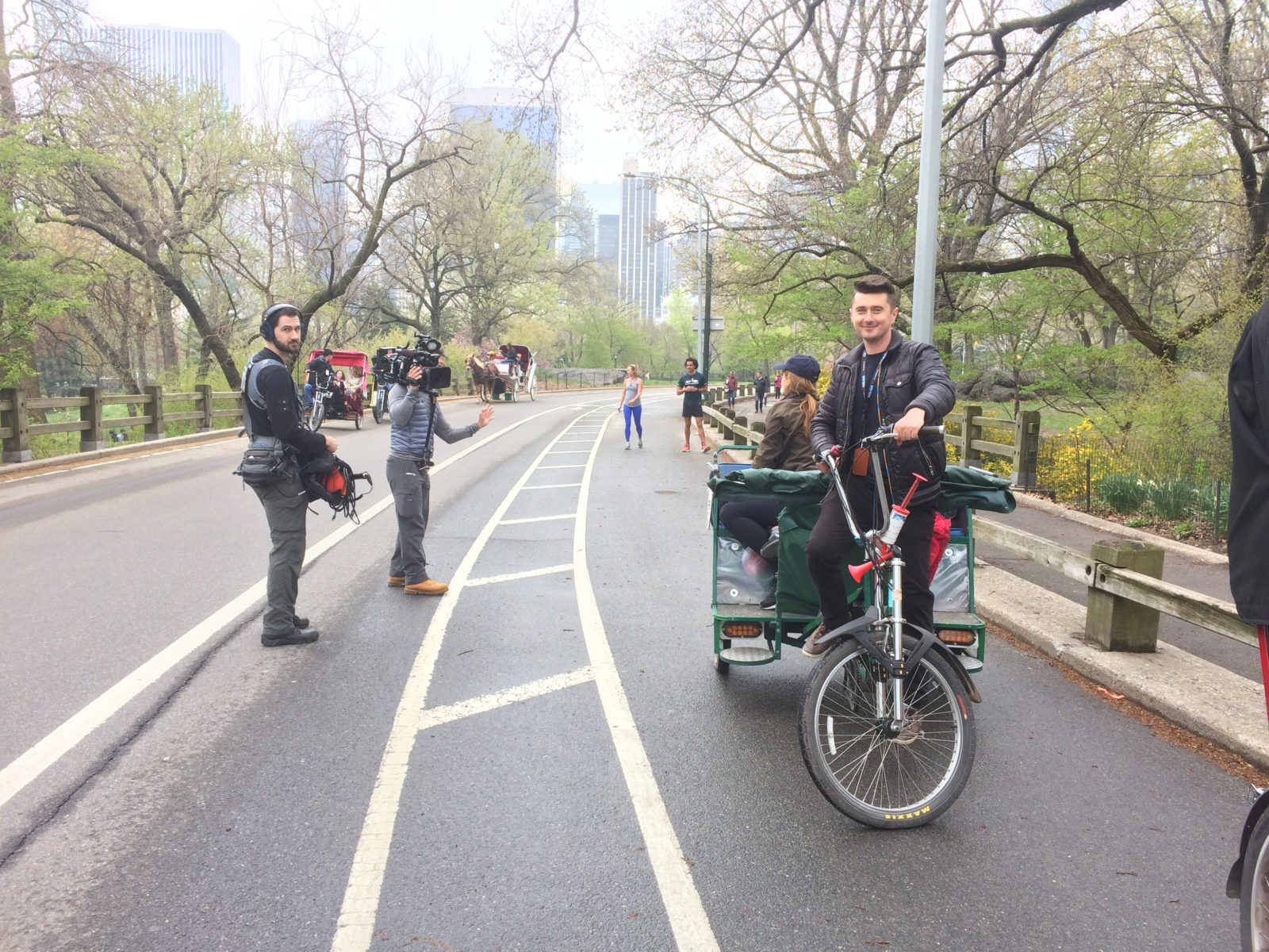 New York Pedicab Services Central Park