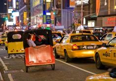 New York Pedicab Services Times Square