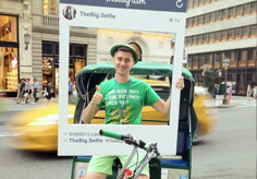 new york pedicab services advertisement