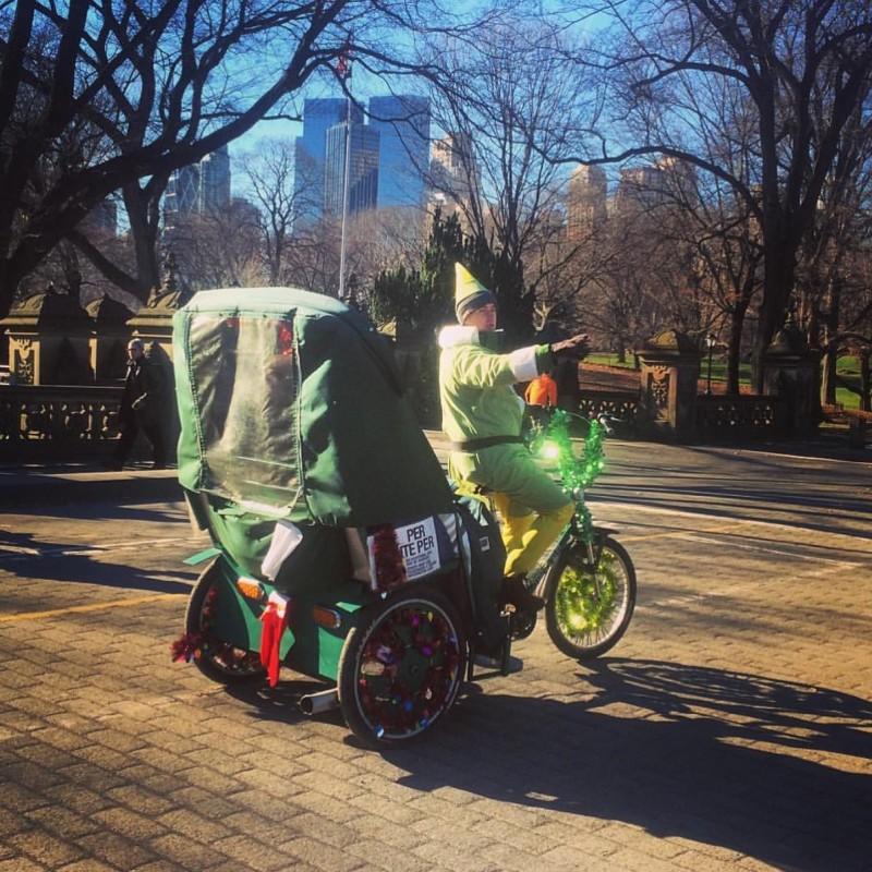 central park pedicabs tours