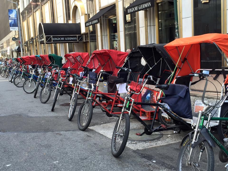 new york city pedicab service