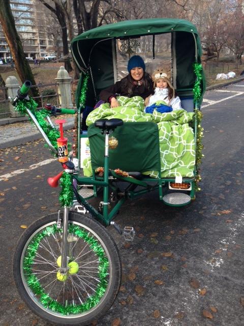Central Park Pedicab Rickshaw Tours