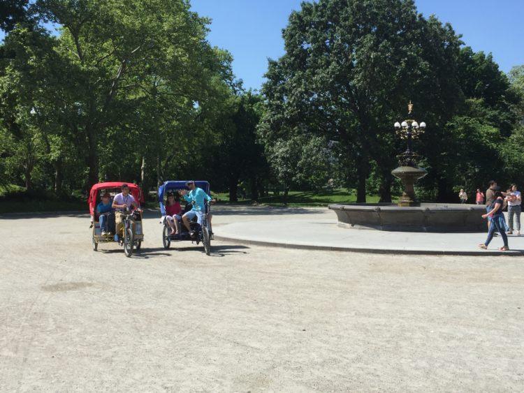 central park pedicab tours