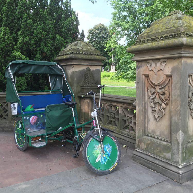 Central Park Tours en pedicab