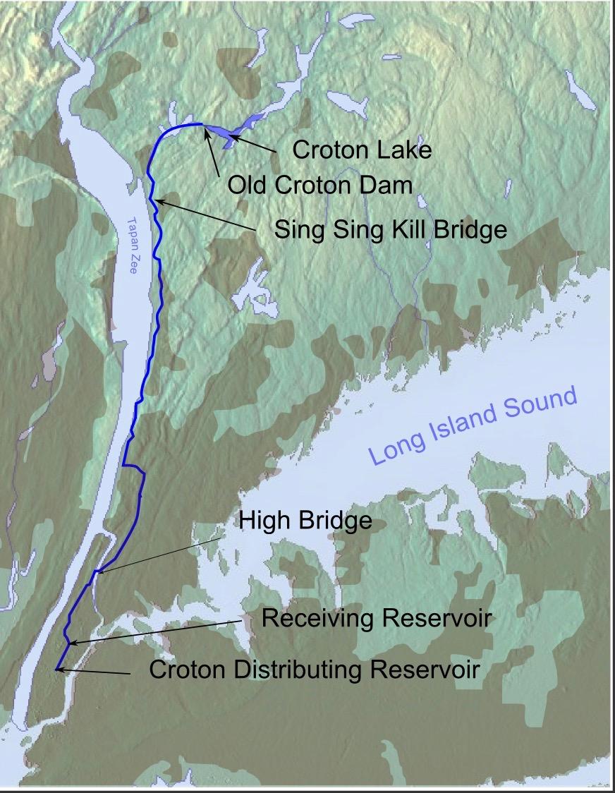 The Croton Aqueduct Water Supply