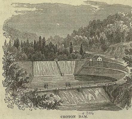 The Croton Lake Dam