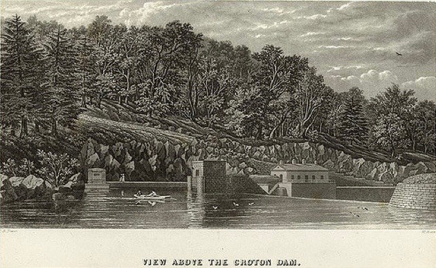 The old croton aqueduct new york