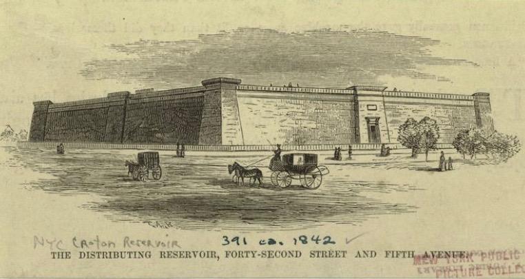 distributing reservoir 42 street library rickshaw tours