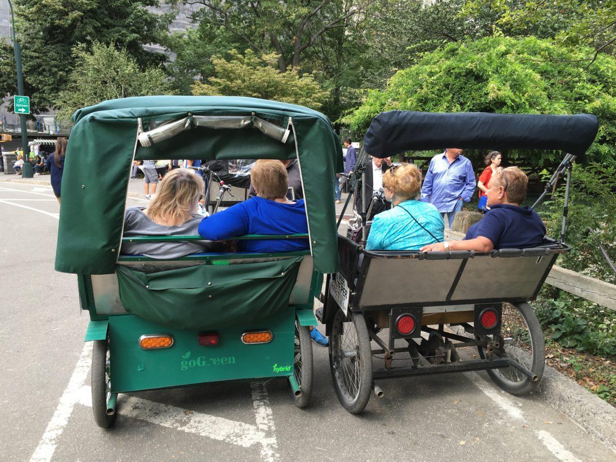 central park pedicab tours nyc