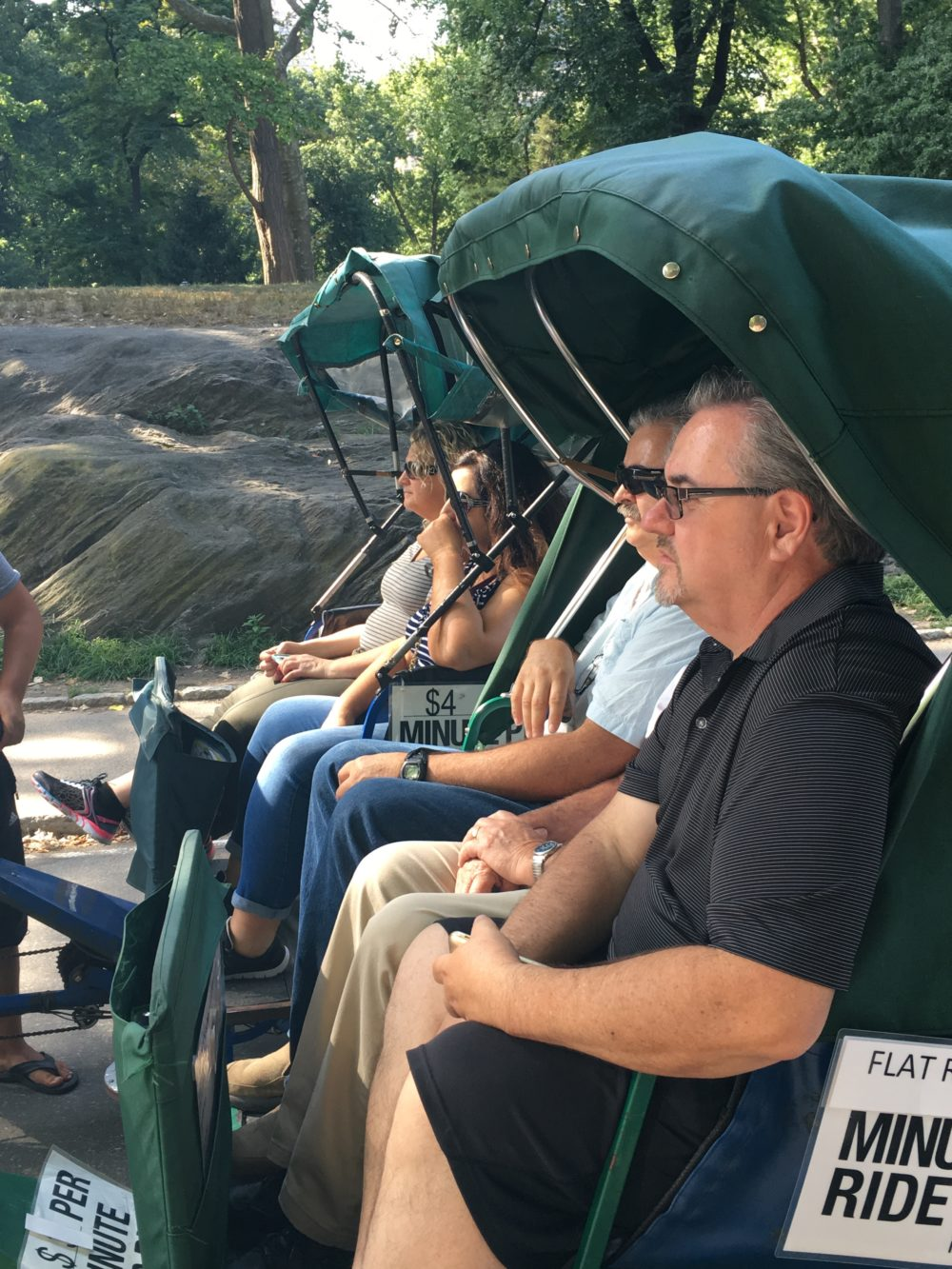 central park pedicab tours nyc manhattan