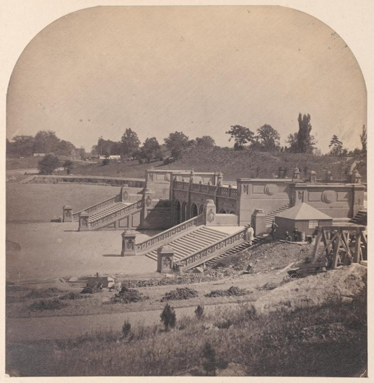 central park history bethesda terrace