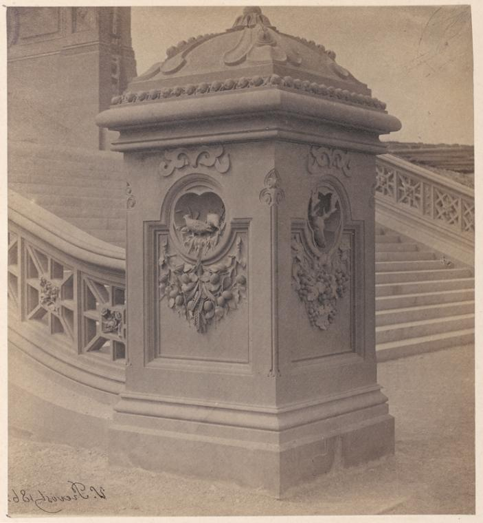 newel central park history coulmn bethesda