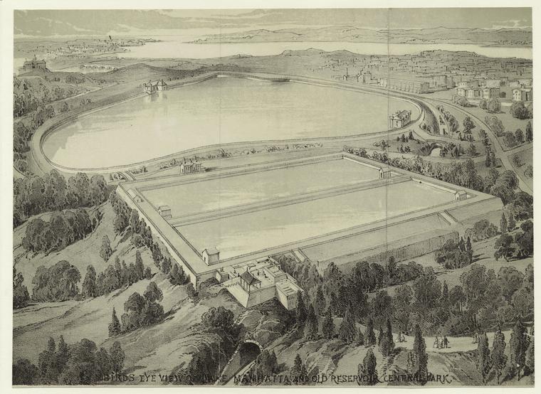 central park history reservoir old