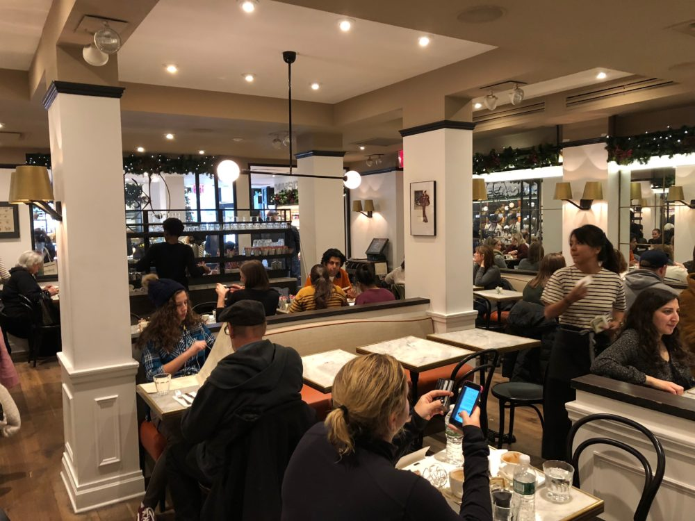 Maison Kayser Central Park brunch cafe