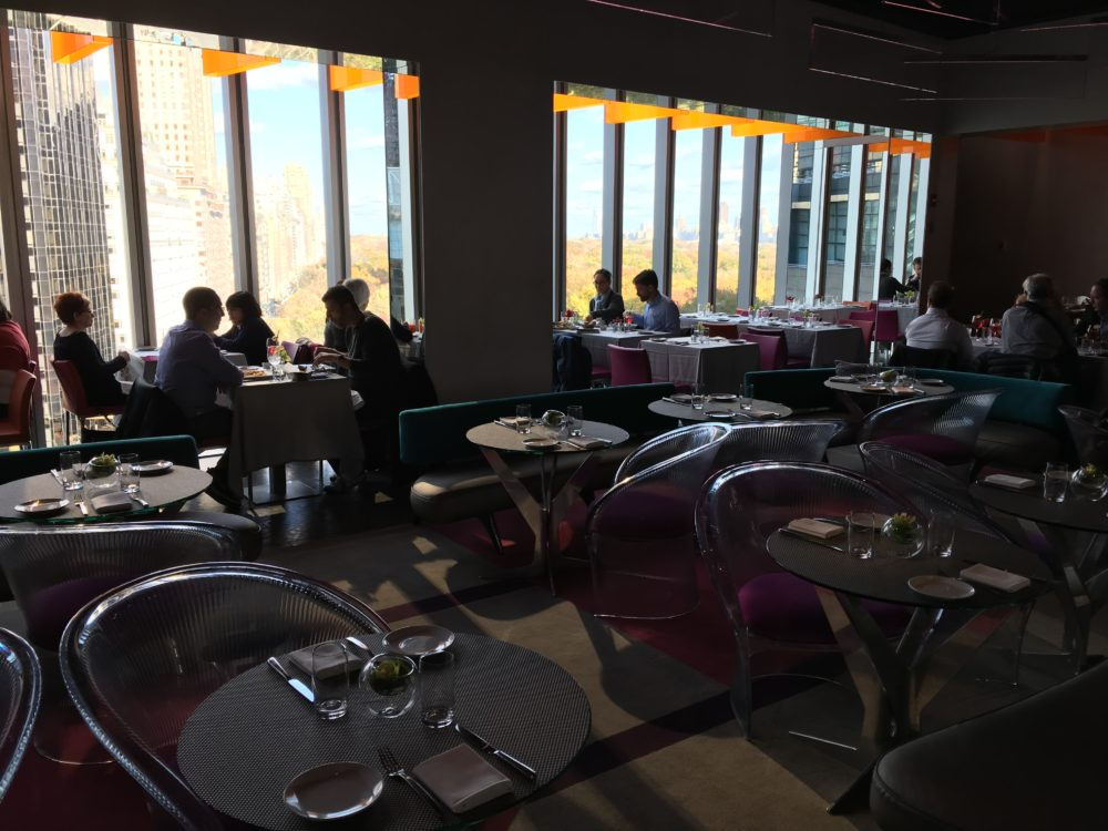 Robert restaurant near central park nyc brunch views