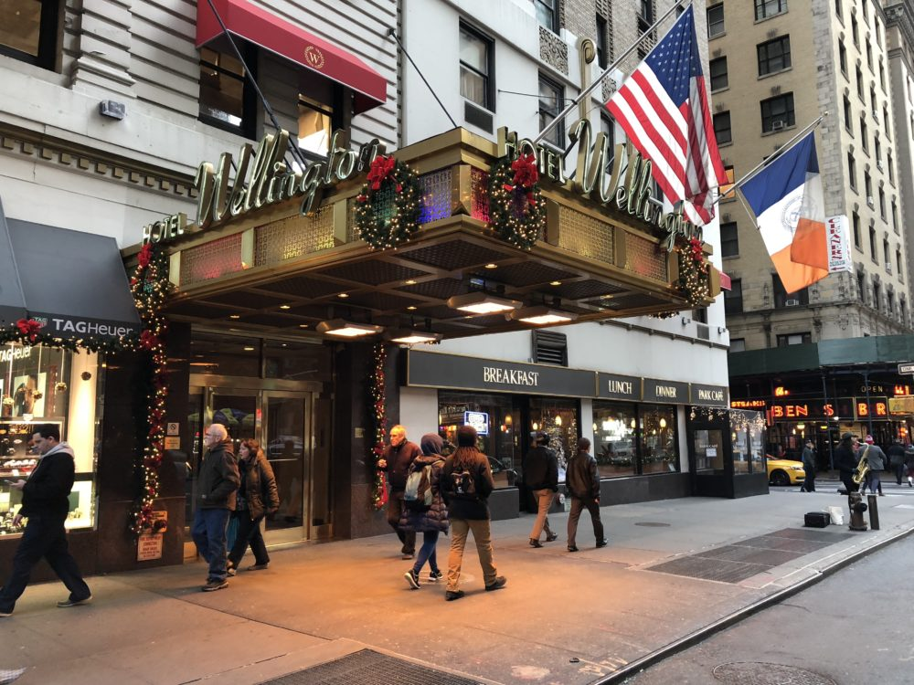 Wellington Hotel place to stay near central park times square