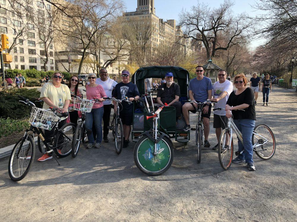 Central Park Combo Tour Pedicab Bikes
