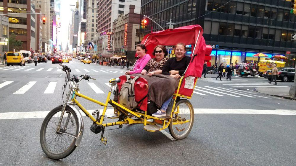 midtown pedicab ride tour