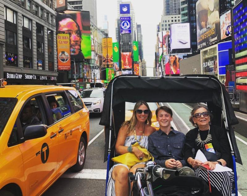 new york pedicab rides